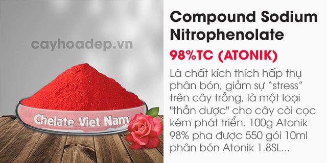 Bán chất kích thích hấp thụ phân bón Compound Nitrophenolate