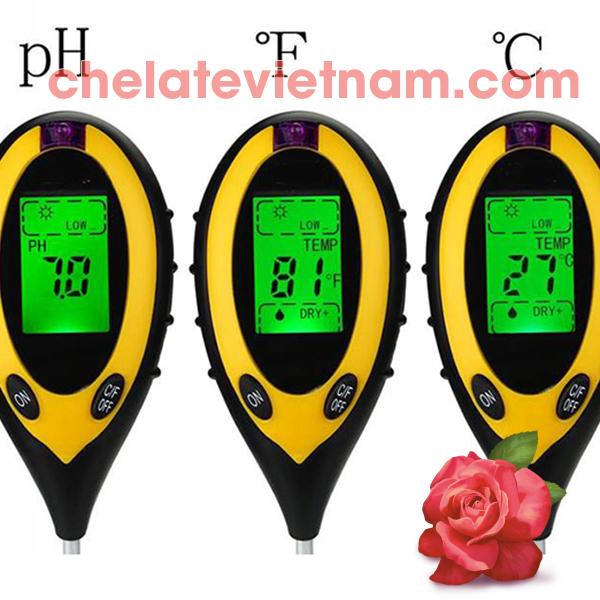 Máy đo pH đươc xem như thiết bị thông minh nên được sử dụng