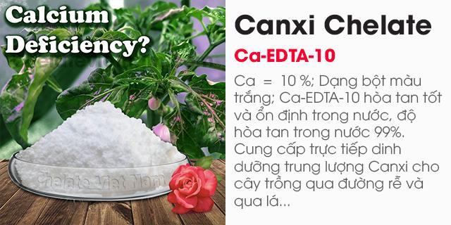 Bán Canxi Chelate (Ca-EDTA-10) tan hoàn toàn trong nước