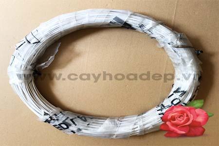 Bán dây nhôm bọc vải uốn cây cảnh (2,5mm)